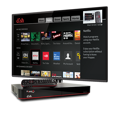 The Hopper - Voice remotes and DVR - Las Vegas, NV - Nevada - DTV FOR LESS - DISH Authorized Retailer